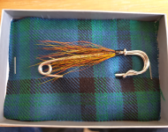 Kilt Pin - Gold Bodied Willie Gunn